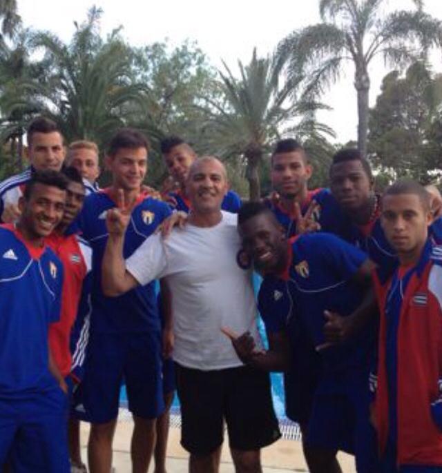 Zu Besuch bei der tunesischen Nationalmannschaft